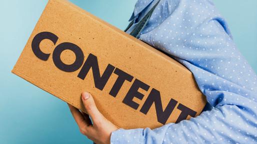 Важность контента в продвижении сайта